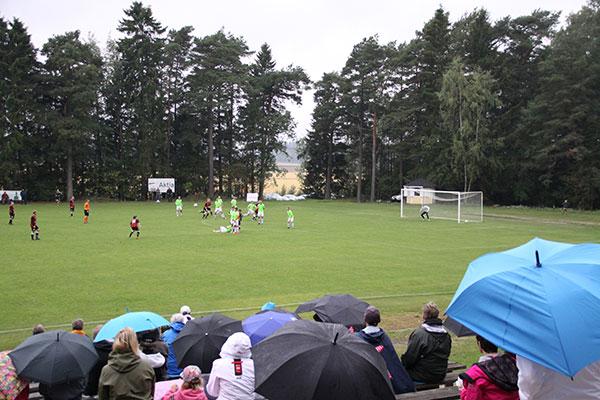Serieledande FC Åland gästade Björkboda