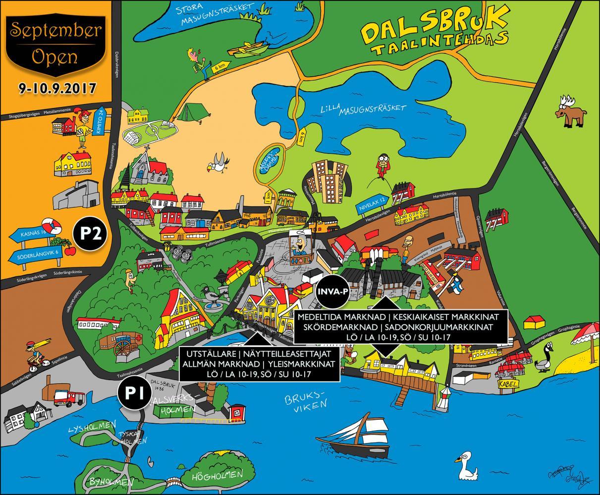 September Open utstallarkarta