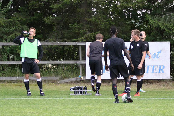 Domaren avbröt matchen mellan FC Boda och TPK – Matchen kommer att spelas om