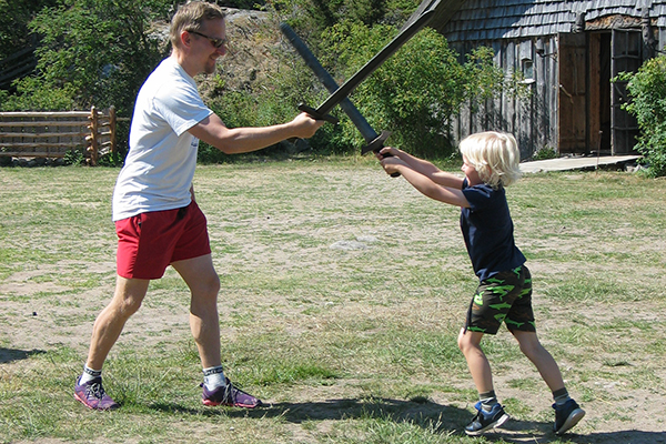 Leva som en äkta viking – Rosala Vikingadagarna 28 & 29.7