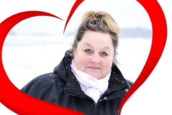 Susan Holmberg är Årets vän i Åboland