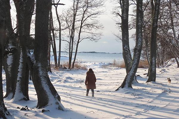 Örö värt ett besök även på vintern