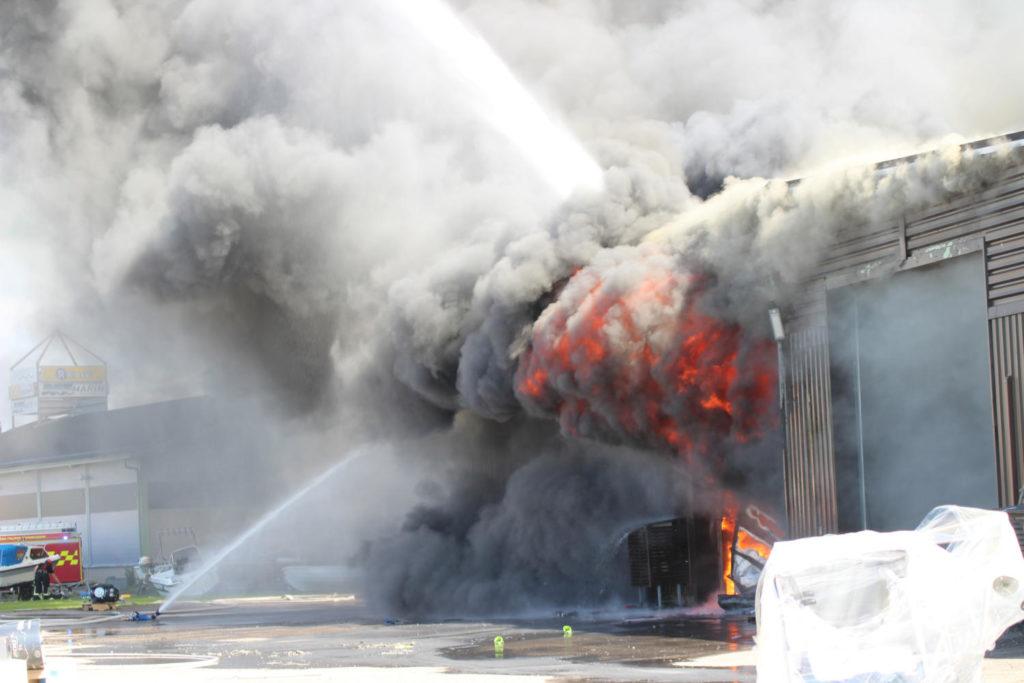 Tuhoisa tulipalo Kemiössä